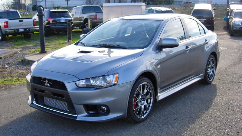 Illustration for article titled Why I Bought And Love My Mitsubishi Evo, A Retort From My Dad