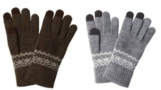 Illustration for article titled Patterned Touchscreen Gloves Will Get You Through the Impending Apocalypse