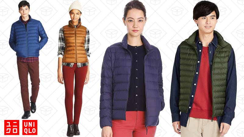 Ultra Light Down Jacket for Men and Women | $60 | UniqloUltra Light Down Vest for Men and Women | $40 | Uniqlo