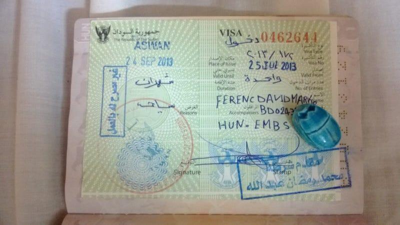 Illustration for article titled Megvan a szudáni vízum!!!