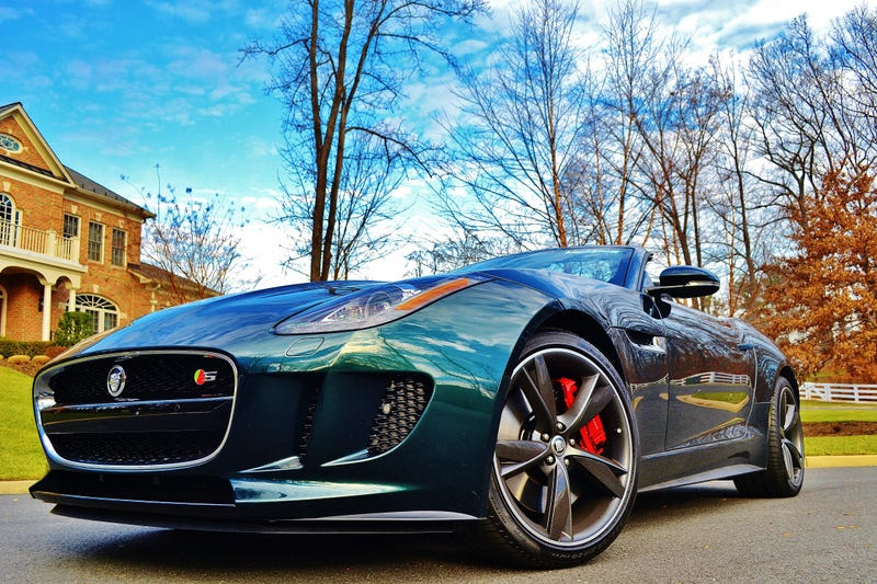 f type the best looking new car. Black Bedroom Furniture Sets. Home Design Ideas