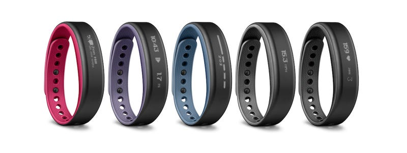 Illustration for article titled Garmin's Vivosmart Is a Fitness Tracker With Smartwatch Tendencies