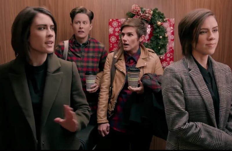 We can't promise Tegan and Sara will show up again