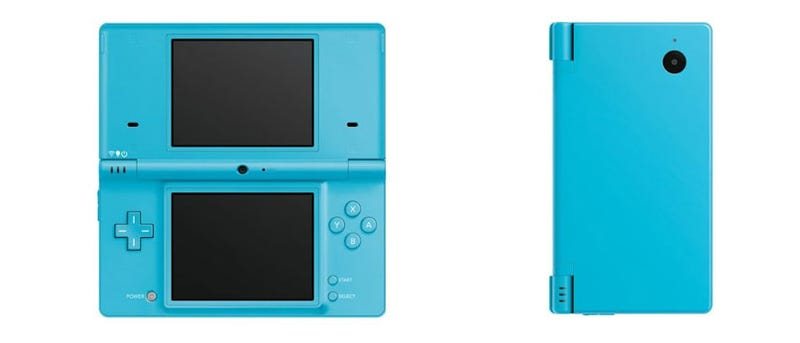Illustration for article titled Let's Get A Good Look At That Blue DSi