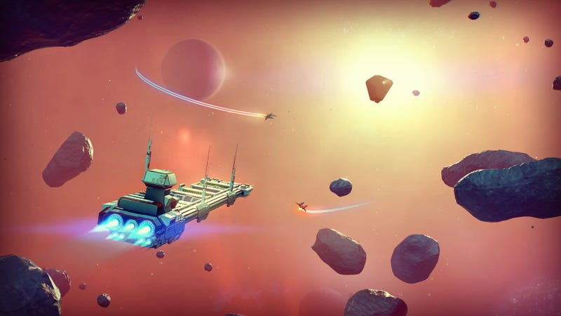 Illustration for article titled No Man's Sky Fans Are Having A Meltdown Over Leaked Copies
