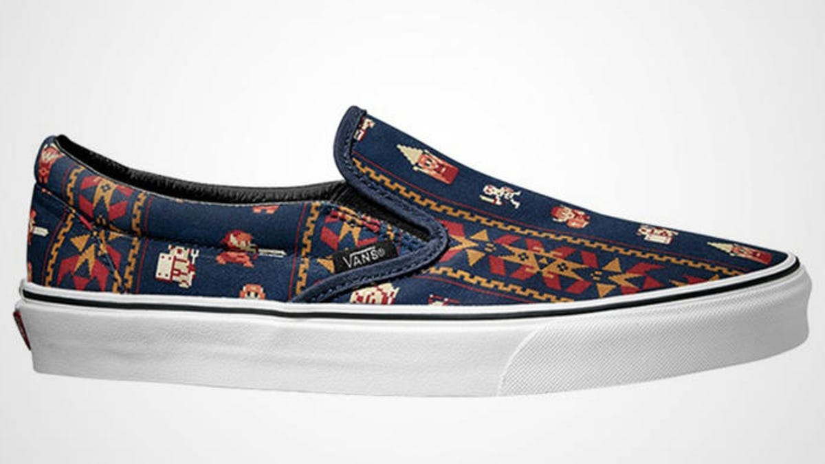 b23c7016d0098e Make Room in Your Shoe Closet Because Vans Has Teamed Up With Nintendo