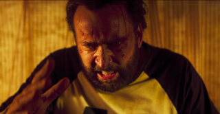 Illustration for article titled Today in Trailer Happy Hour: Nicolas Cage has a motherfucking chainsaw