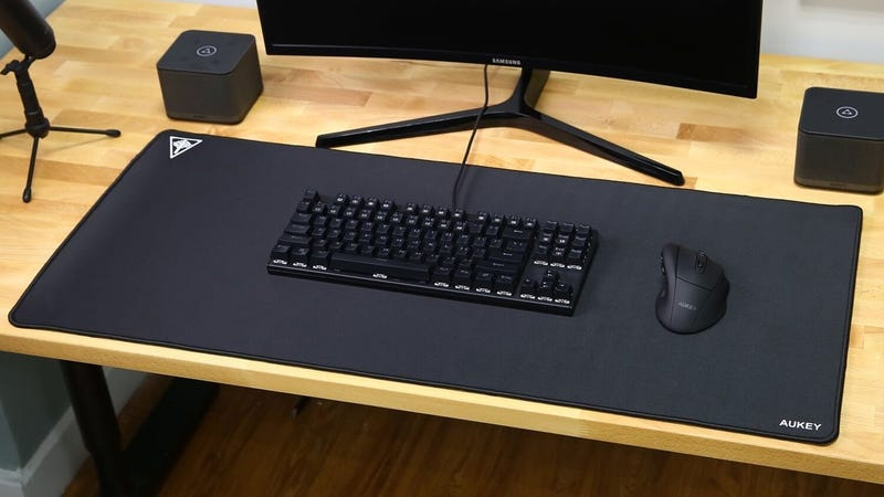 Aukey XXL Mouse Pad | $12 | Amazon | Promo code 55T42OCA