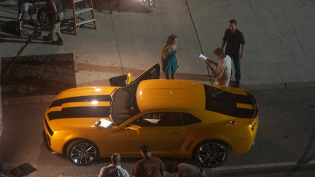 2010 Chevy Camaro Price >> Bumblebee, Shia LaBeouf Spotted Cheating on Megan Fox on Transformers 2 Set