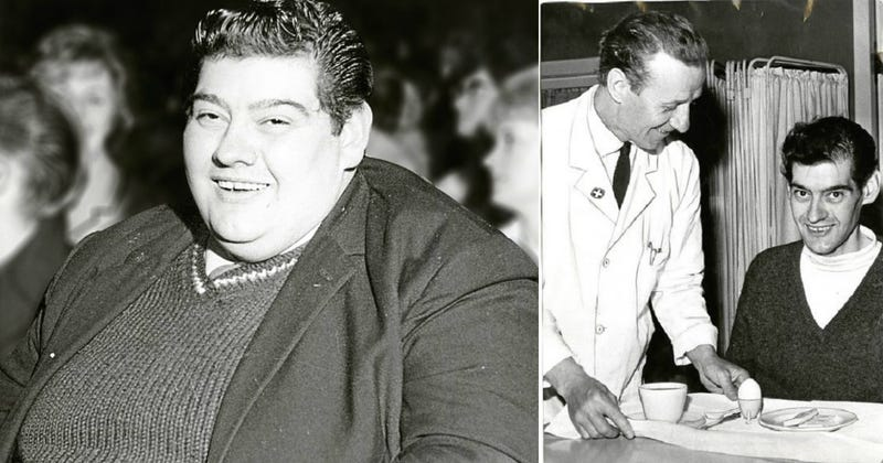 Illustration for article titled No comió durante 382 días, perdió 125 kilos, y vivió para contarlo: la insólita dieta de Angus Barbieri