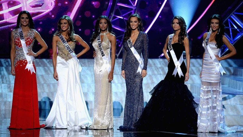 Illustration for article titled Ranking Women Somehow Not Issue In Miss USA Debacle