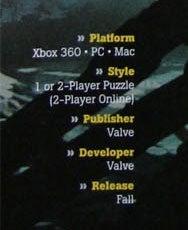 Illustration for article titled Portal 2 Confirmed for Mac