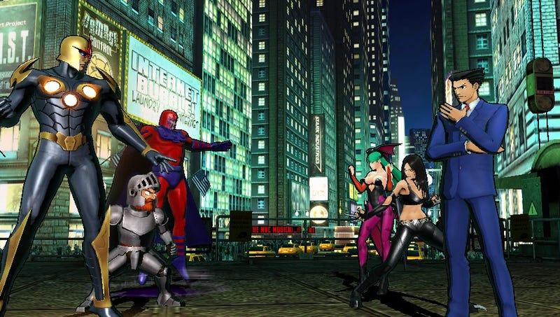 Illustration for article titled Ultimate Marvel vs. Capcom 3 DLC Delayed a Week on PS Vita