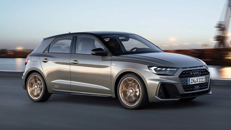 Illustration for article titled The 2019 Audi A1 Is A Pissed-Off Little Hatchback That Looks Like Tons Of Fun