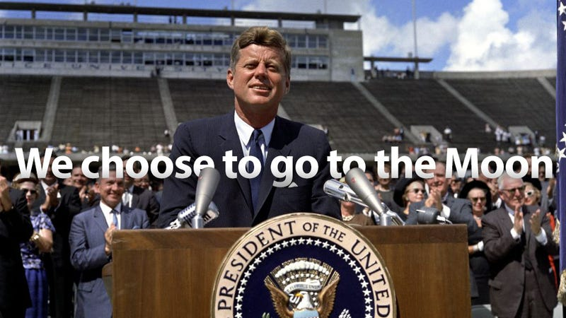 50 years ago today, on September 12, 1962, President John F. Kennedy delivered one of his best and most inspiring speeches. Arguably, one of the best in the ...