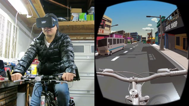 Build your own arduino powered virtual reality indoor
