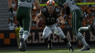 Illustration for article titled Peyton Hillis Is Madden NFL 12's Cover Star