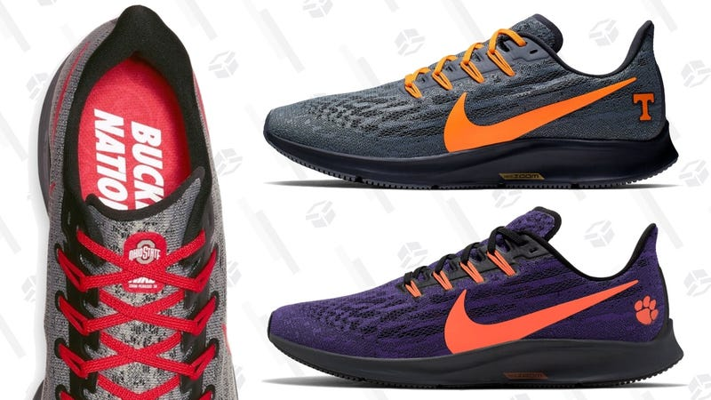 best sneakers e3fb3 2b589 Nike's NCAA-Themed Air Zoom Pegasus Running Shoes Are ...