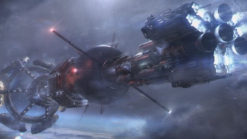 Concept art for the Nightflyer. Image: George R.R. Martin/Livejournal