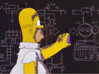 Illustration for article titled How Close Was The Simpsons To Figuring Out the Mass of the Higgs Boson?