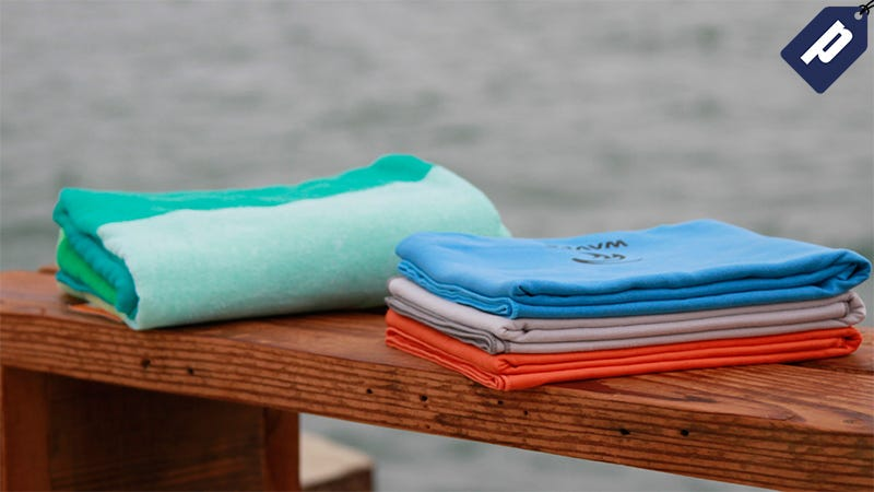 Illustration for article titled Get This Versatile + Compact Quick-Dry Micro-Fiber Towel (40% Off)