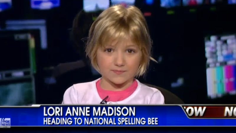 Illustration for article titled Girl Genius: Meet the Amazing 6-Year-Old Who's Headed to National Spelling Bee