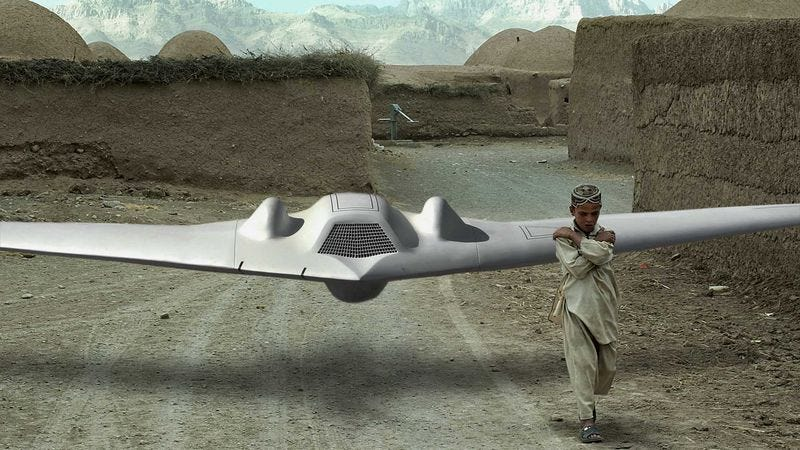 Illustration for article titled Pakistani Boy, U.S. Drone Form Unlikely Friendship