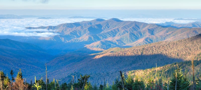 Great Smoky Mountains. AP