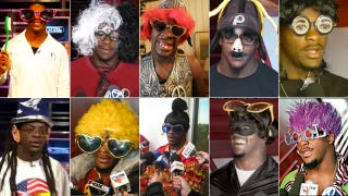 Illustration for article titled Clinton Portis, Coach Janky Spanky, Sheriff Gonna Getcha, Southeast Jerome, Dolla Bill, Dr. Do Itch Big, Bro Sweets, Prime Minister Yah Mon, Bud Foxx, Coconut Jones, And Choo-Choo All Announce Their NFL Retirements