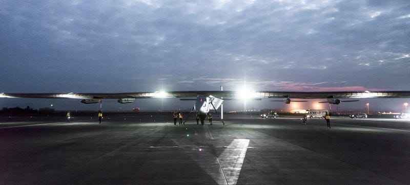 Illustration for article titled Solar Impulse Safely Lands in East China—But the Hardest Leg's to Come