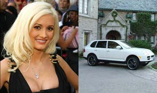 Illustration for article titled Now YOU Can Roll Playboy Style In Holly Madison's Cayenne!