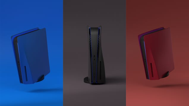 Sony Says No to People s Dreams of Colored Side Panels for the PS5