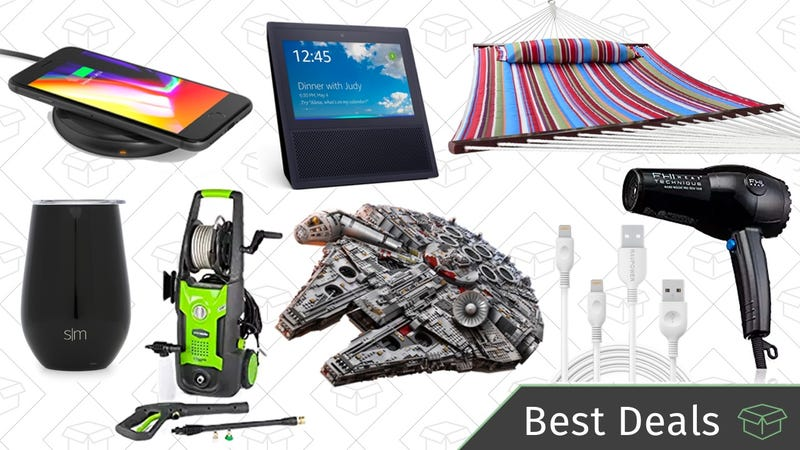 Illustration for article titled Thursday's Best Deals: Mother's Day Gifts, Pressure Washer, Qi Charger, and More