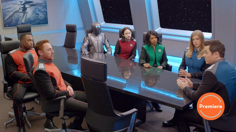 the orville begins its second season with a strong low stakes