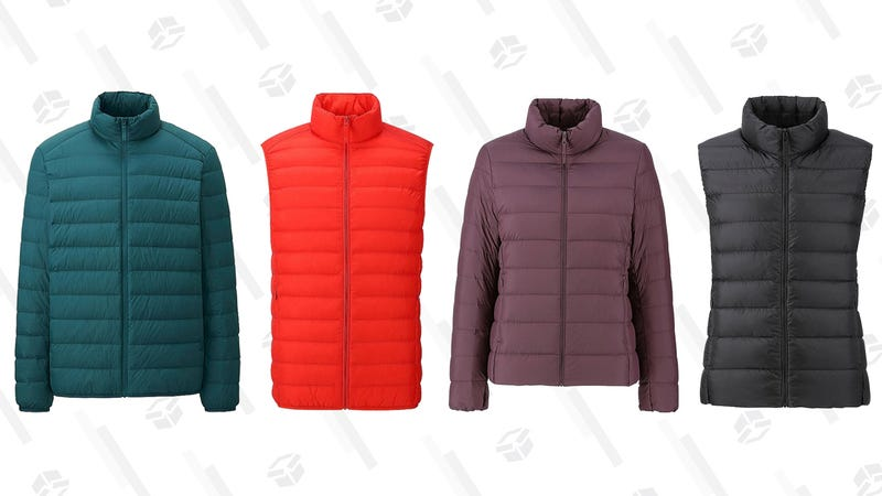 Men's and Women's Ultra Light Down Vests and Jackets | Uniqlo