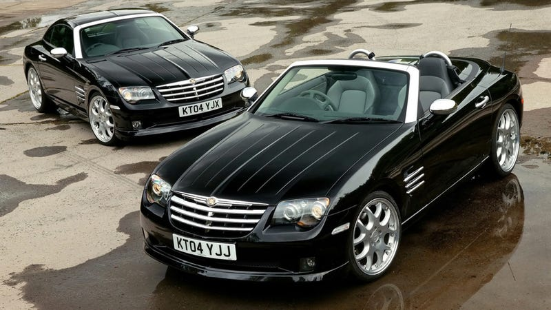 convertible roadster review chrysler crossfire parkers xfire