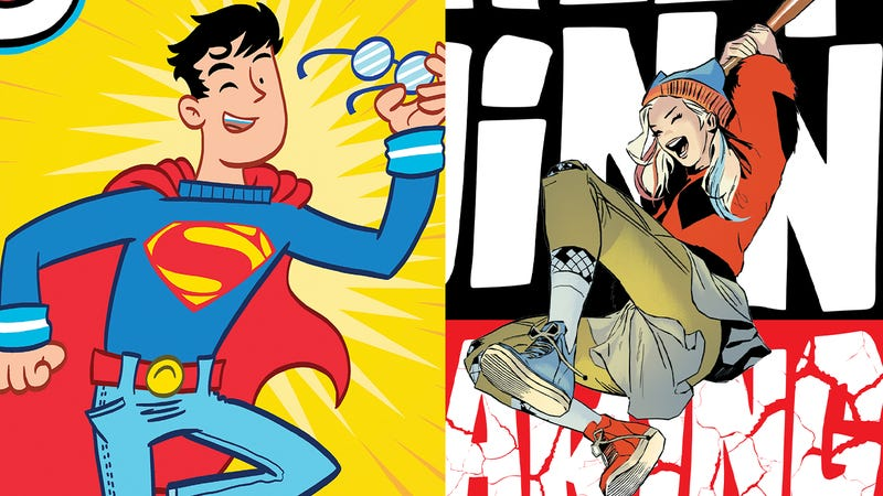 Do DC's graphic novels for young readers get a passing grade?