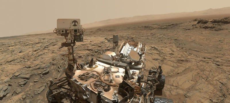 Illustration for article titled Por qué la sombra del robot Curiosity no se corresponde con la realidad
