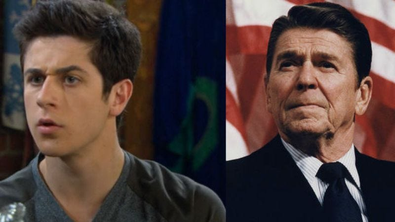 Illustration for article titled Wizards Of Waverly Place's David Henrie to play Ronald Reagan in biopic