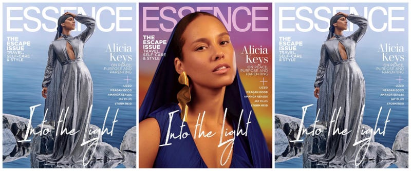 Illustration for article titled Go for the Glow: Alicia Keys Covers Essence's June Issue—and More Famous Faces Get Some Shine!
