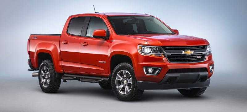 Illustration for article titled 2016 Chevrolet Colorado With Sweet Diesel Power Priced From $31,700