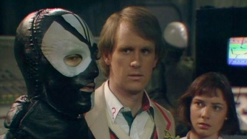 """Illustration for article titled Doctor Who (Classic): """"The Caves Of Androzani"""""""