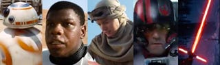 Illustration for article titled New Star Wars VII villain and hero names revealed in trading cards