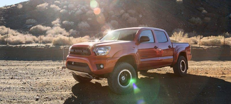 Illustration for article titled A New Toyota Tacoma And Two Lexus Performance Cars Are Coming To Detroit