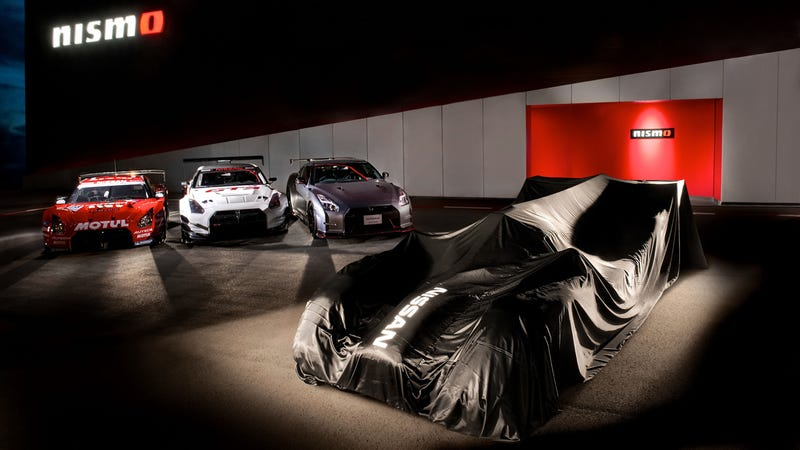 Illustration for article titled Nissan wants to beat Audi at Le Mans with the GT-R LM NISMO
