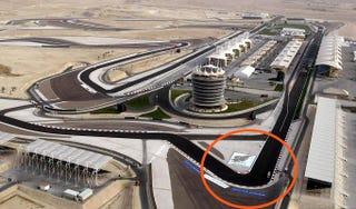 Illustration for article titled Bahrain named 1st corner after Schumacher