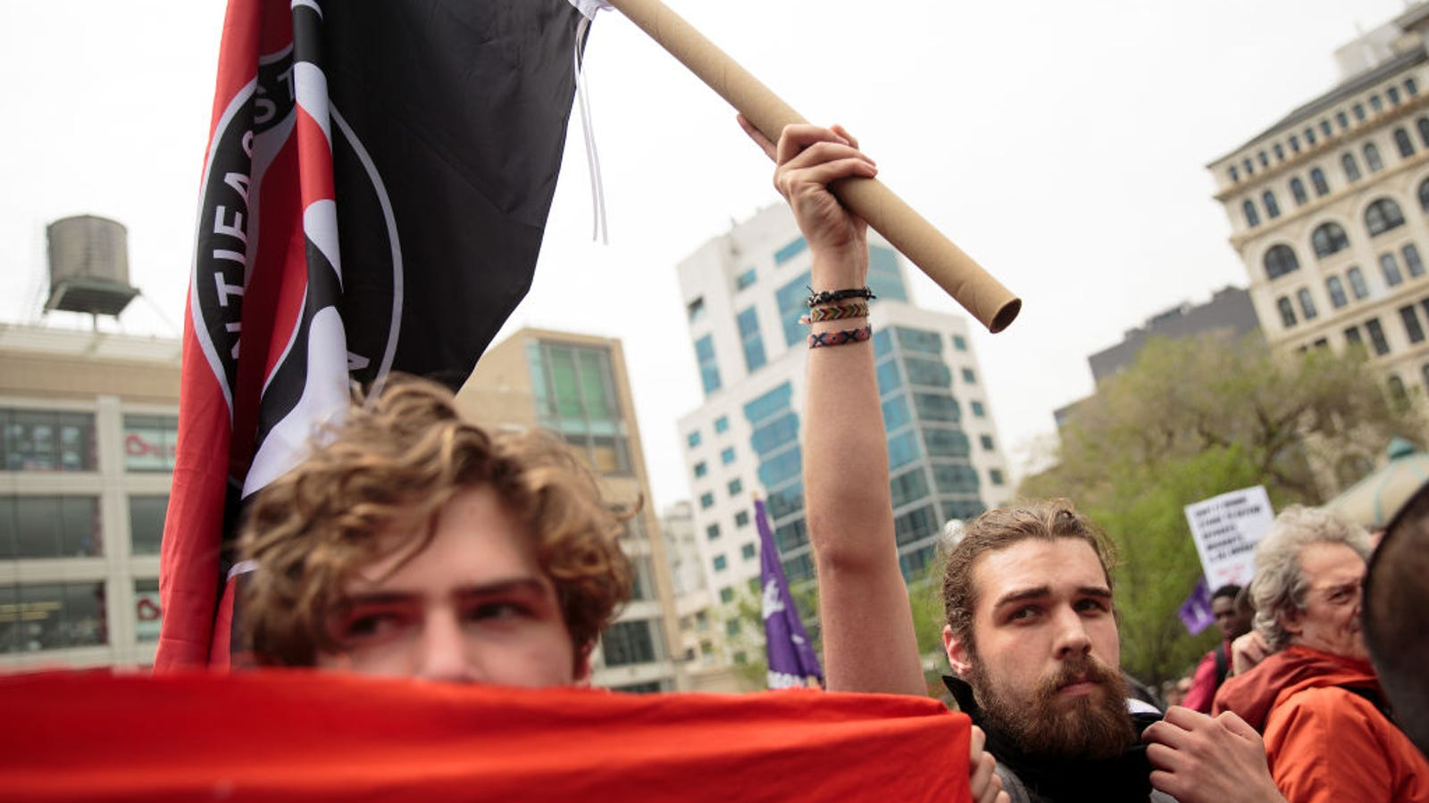 The Right Is Falling for Its Own Fake Antifa Accounts