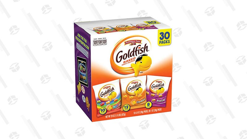 30-Count Goldfish Variety Pack | $8 | Amazon | Clip the 20% off coupon