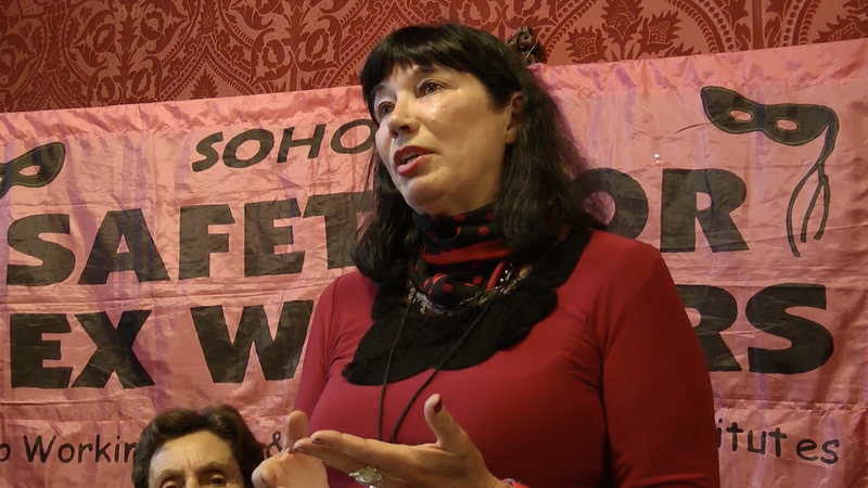 Catherine Healy, a longtime sex worker rights activist.