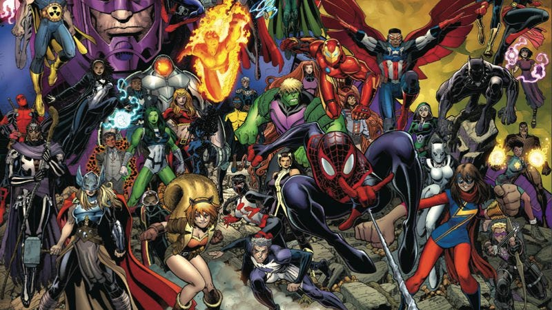 Illustration for article titled Exclusive Marvel preview: Sample six new Marvel titles with Avengers #0